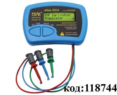 Тестер-анализатор транзисторов DCA55
