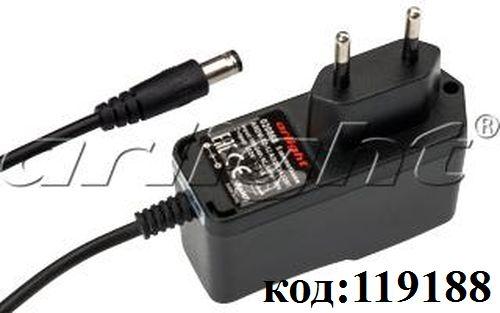AC/DC ~220V->12V-  1,0A адаптер (ARDV-12-12A)