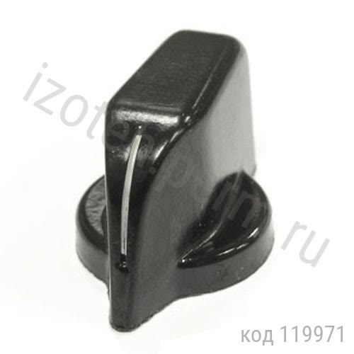 Ручка на вал d=4 мм, под винт, клювик (НЛП4.252-115)