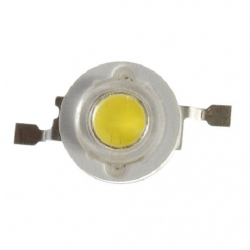 Светодиод-   3Вт, белый 3200К, 140°, 130 лм, эмиттер (ARPL-3W-BCX45 Warm White)