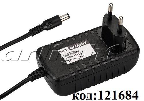 AC/DC ~220V-> 5V-  3,0A адаптер (ARDV-15-5A)