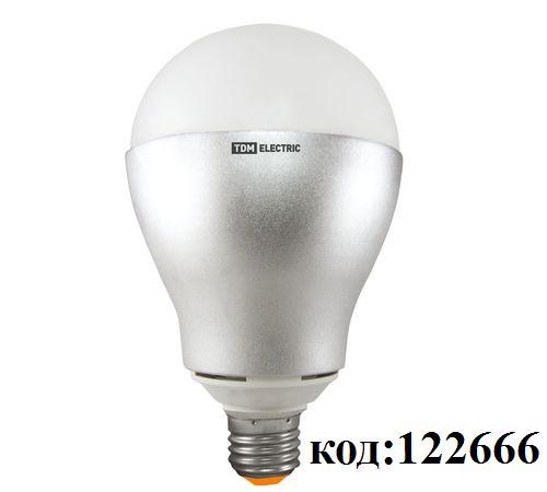 Лампа светодиодная -E27 24 Вт, 220В, 3000К, 1800 Лм,  A100 (НЛ-LED) TDM