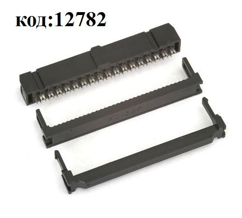 Разъем на плоский кабель 2х17 (м) (IDC-34)