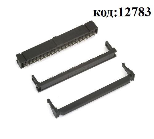 Разъем на плоский кабель 2х20 (м) (IDC-40)