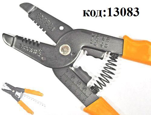 Клещи для зачистки проводов с кусачками (HT-1043) 0.25-0.65 AWG