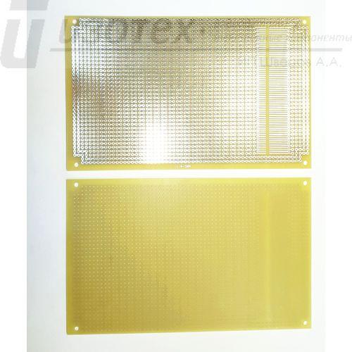 Печатная макетная плата о/с 160x100мм (MAC-4)