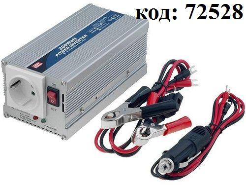 DC/AC инвертор:12V->220V  300W  (A301-300-F3)
