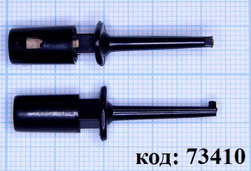 Щуп-зажим 40мм, черный (ITB-40B)