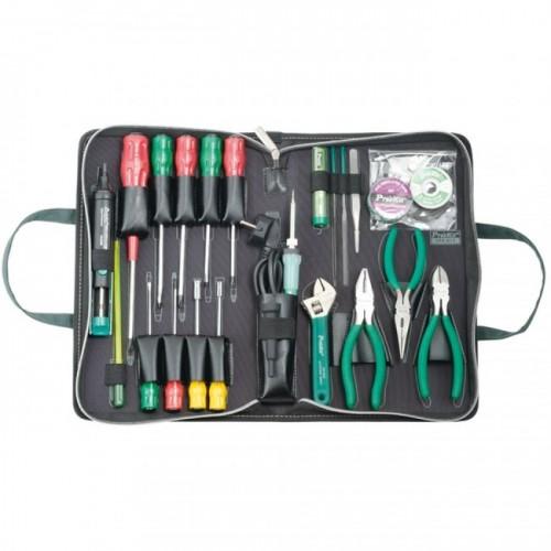 Набор инструмента для электроники 24 предмета 1PK-813B