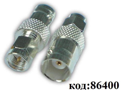 Переходник BNC (м) - SMA (п) (BNCJ-SMAP) (GSA-1115) (SMA-7820)