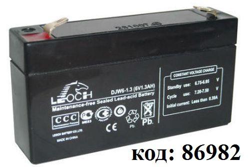 Аккумулятор DJW 6-1,3  (6V- 1,3Ah)