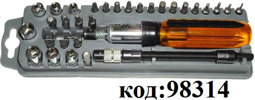 Набор отвертка и набор сменных наконечников 8PK-204A (ProsKit )