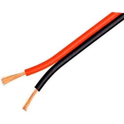 Кабель: акустический 2х 0.75мм кв. ШВП-М (красно-черный)