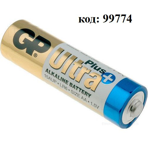 Эл. пит. GP15AUP (LR6/AA) ULTRA PLUS