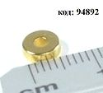 Неодимовый магнит-шайба с отверстием P-06/02х02-G